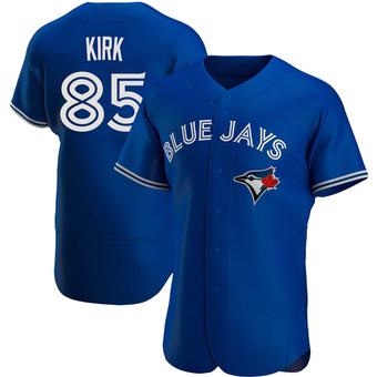 Men's Alejandro Kirk Toronto Royal Authentic Alternate Baseball Jersey (Unsigned No Brands/Logos)