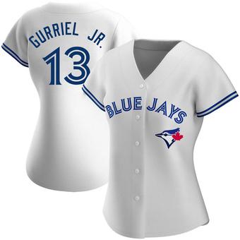 Women's Lourdes Gurriel Jr. Toronto White Authentic Home Baseball Jersey (Unsigned No Brands/Logos)