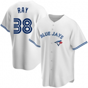 Youth Robbie Ray Toronto White Replica Home Baseball Jersey (Unsigned No Brands/Logos)